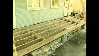 Southern Pine Porches
