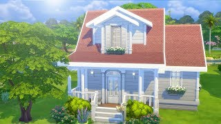 CRANBERRY COTTAGE // The Sims 4: Speed Build