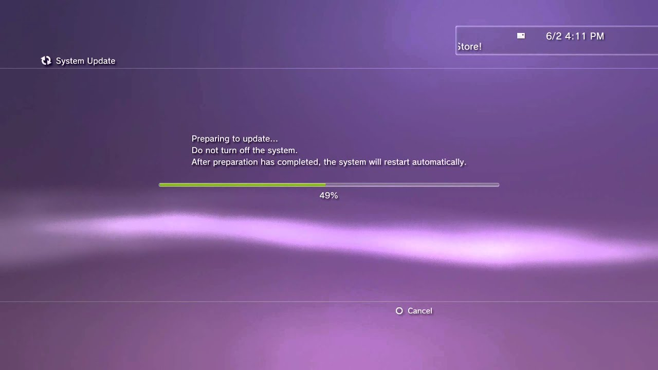 how to delete firmware from ps3