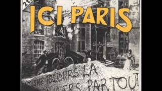 Best french rock band - Noir désir - Ici Paris ( with lyrics )