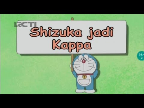 Shizuka jadi Kappa   Daraemon Bahasa Indonesia 6 Januari 2019