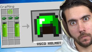 I Made An Illegal Helmet That Does EVERYTHING | Minecraft Trade Up E7