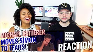 Michael Ketterer - Simon Cowell BREAKS DOWN Crying On Live TV | America's Got Talent 2018 | REACTION