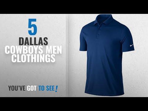Top 10 Dallas Cowboys Men Clothings [ Winter 2018 ]: Dallas Cowboys Nike Golf Victory Solid Polo