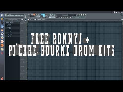 Pierre Bourne Drum Kit Zip