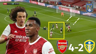 How Arteta's Centre-Backs Exposed Bielsa's Tactics | Arsenal vs Leeds 4-2 | Tactical Analysis