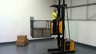 1142 Atlet Electric 1000KG Used Order Picker Forklift Truck.MTS