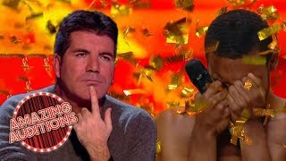 Would SIMON COWELL Give The GOLDEN BUZZER? | Amazing Auditions