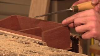 Dovetail Caddy (part 5 Of 5) - Woodworking Project With Paul Sellers