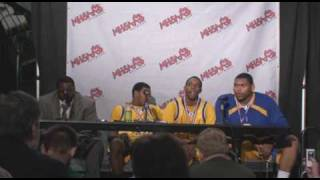 MHSAA Class A State Basketball Finals: Detroit Pershing Post-Game