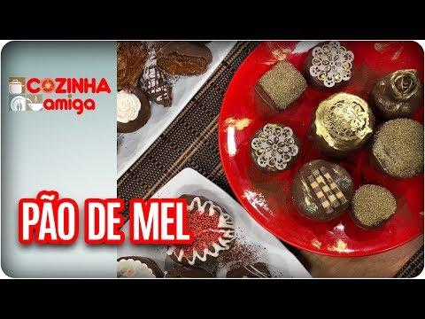 Pão De Mel - Dalva Zanforlin | Cozinha Amiga (31/08/17)
