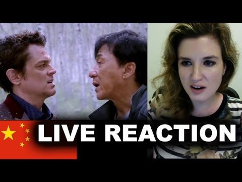Skiptrace Trailer Reaction - Jackie Chan 2016