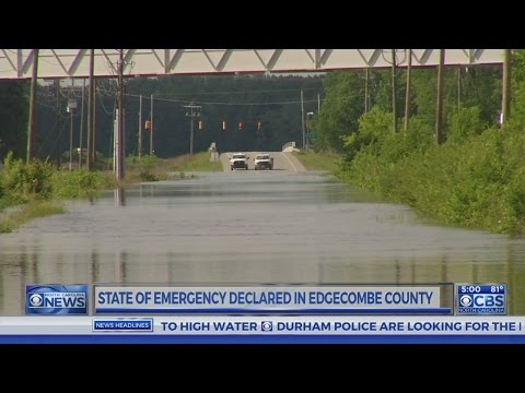 State of emergency declared in Edgecombe County as Tar River continues to rise