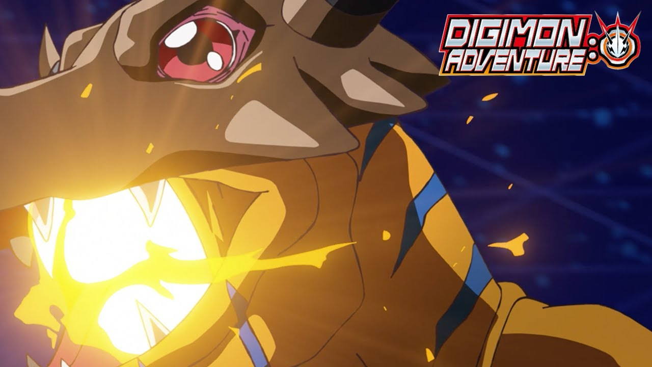 Greymon Battle | Digimon Adventure: