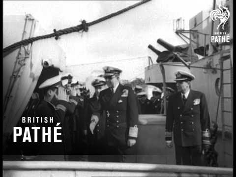 Download King Paul Of Greece Visits Athens Dockyard (1948)