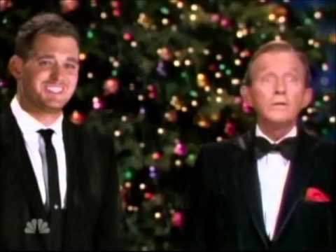 Michael Buble White Christmas.Michael Buble Bing Crosby White Christmas