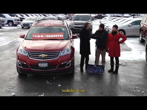 HUGE 2017 Chevy Traverse Lease Deal