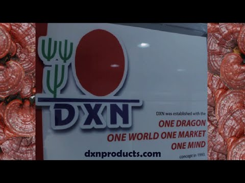 DXN Ganoderma company farm and factory video
