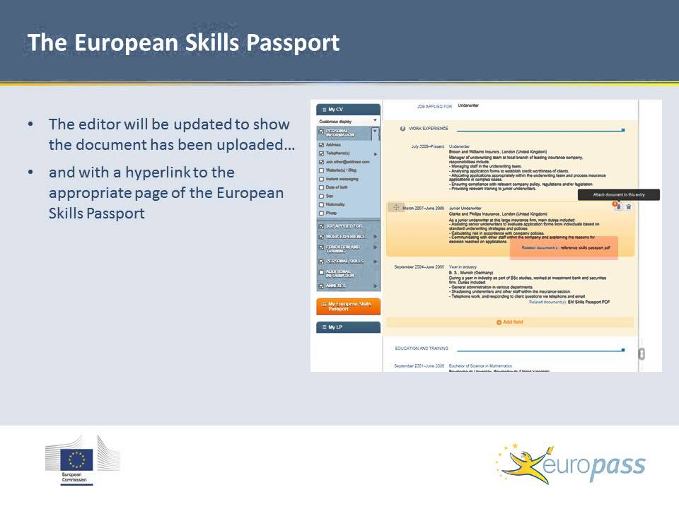 Europass - Europass CV