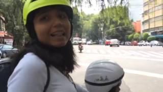 Insultan a ciclista en la Condesa