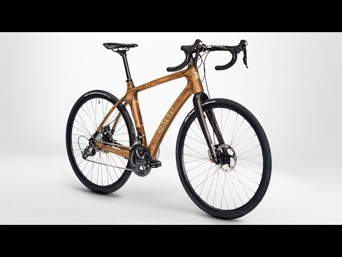the Wooden Bike Made from whisky casks