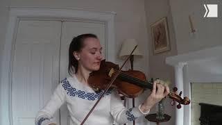 "TSO Violin Yolanda Bruno performs ""From the New World"" from Antonín Dvořák's Symphony No. 9"