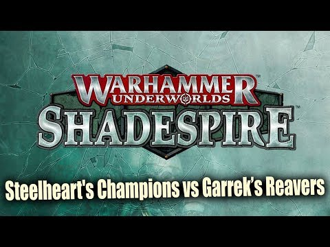 Warhammer Underworlds : Shadespire Battle Report Ep 1