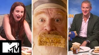 Paddington 2 Cast Take The Marmalade Sandwich Challenge! | MTV Movies