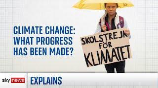 Climate change: What progress has been made?