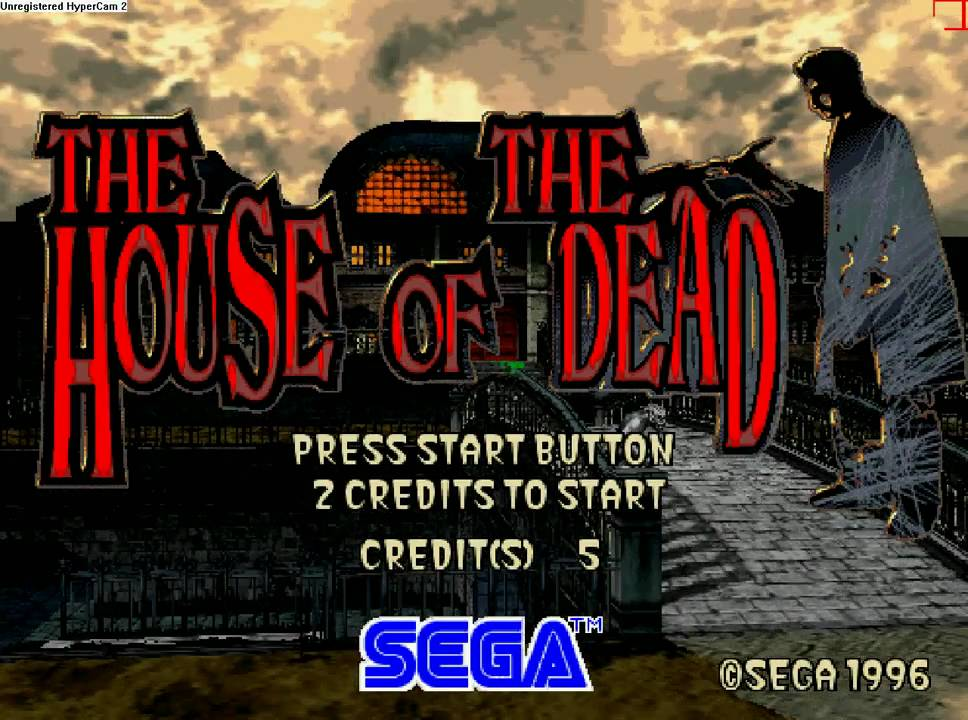 The House Of The Dead Arcade Chapter 1 Tragedy Youtube