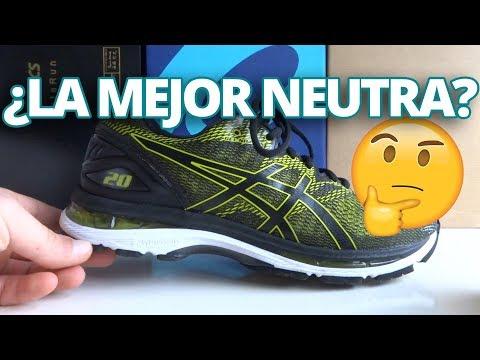 077bada88 Todos los usuarios de Asics Gel Nimbus 19 van a percibir un modelo casi  perfecto para renovar sus antiguas zapatillas ya que la 20 hace las mismas  cosas ...