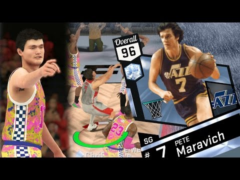NBA 2K17 My Team - Diamond Pete Maravich Won