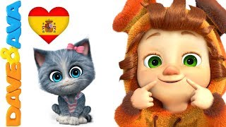 🎤  Canciones para Niños | Canciones Infantiles en Español | Música para Niños de Dave y Ava  😻