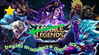 Cara mendapatkan hero gratis di mobile legend