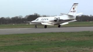 citation vs sportscruiser at teuge airport netherlands 26-01-2014