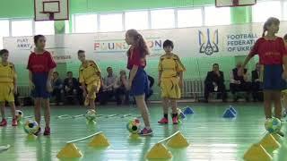 Желтобюх С.М. урок футболу 5 клас