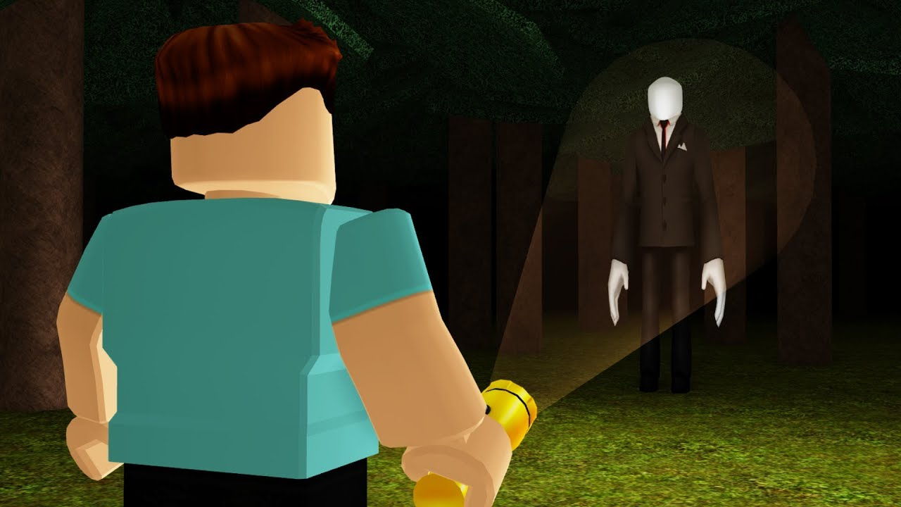 3am In The Forest A Roblox Horror Story Youtube