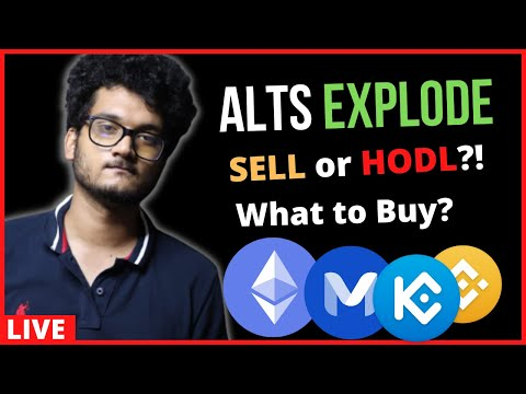 ALTCOINS EXPLODE CRYPTO MARKET UPDATE  | SELL OR HOLD MATIC  | Altcoins to Buy ETH SOL AR LINK UNI