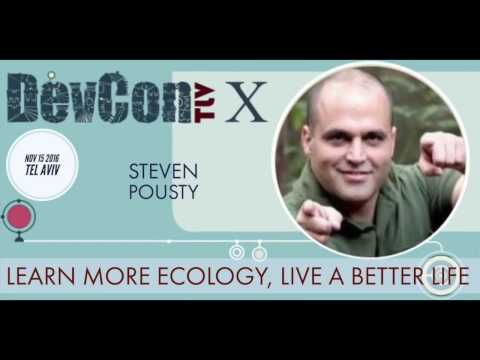 Learn more ecology, live a better life - Steven Pousty at DevconTLV 10