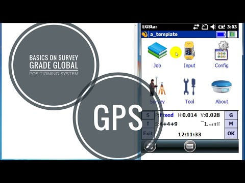 Basics on Survey grade GPS