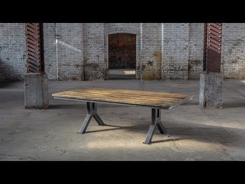 The Engineering Table Model 1 | Steel Vintage - The Industrial Furniture Company