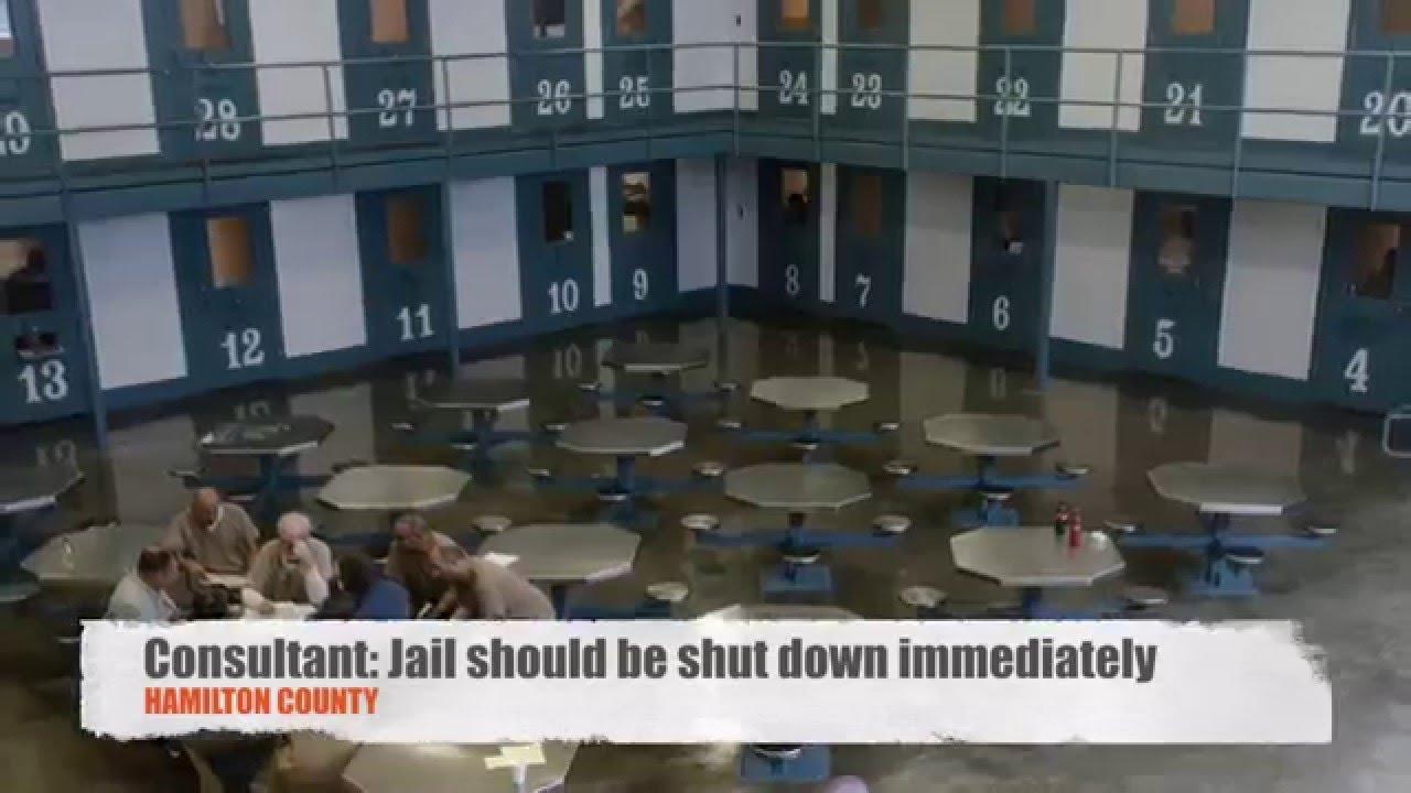 Hamilton County Jail should be shut down immediately, consultant says