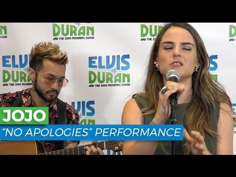 "JoJo - ""No Apologies"" Acoustic | Elvis Duran Live"
