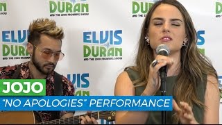 "JoJo - ""No Apologies"" Acoustic 