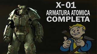 FALLOUT 4 ARMATURA ATOMICA X-01 COMPLETA