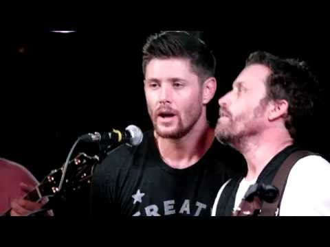 """Fare Thee Well"" Jensen Ackles, Rob Benedict at Jailbreak, 23.05.2016"
