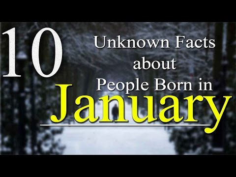 10 Unknown Facts About People Born In January   Do You Know?