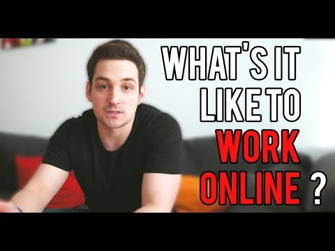 What's It ACTUALLY Like to Work From Home (Online)?