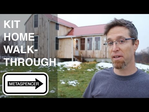 FirstDay Cottage Kit Home Walkthrough