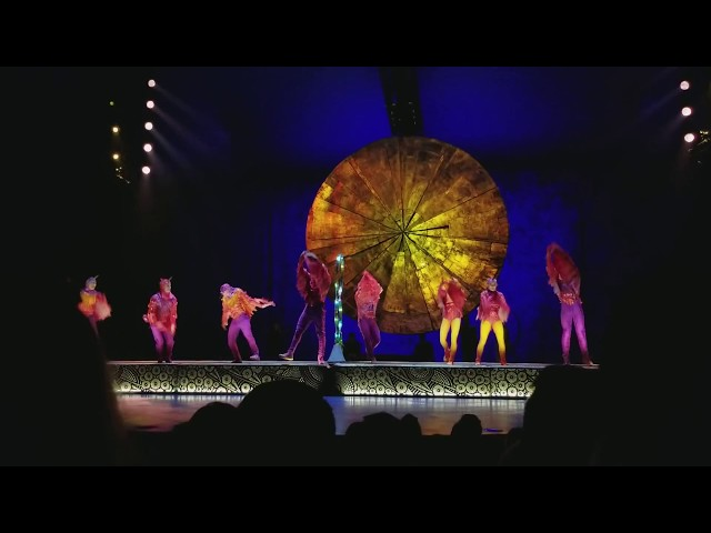 Cirque du Soleil LUZIA Acrobatic Hummingbirds Hoop Diving